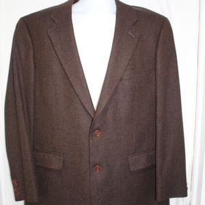 346 Brooks Brothers 100% Lambs Wool Blazer Lined